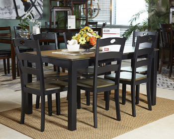 Signature by AshleyFroshburgDining Room Table Set (7/CN)