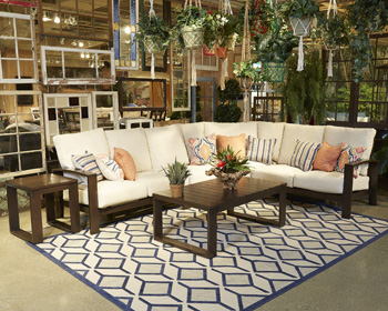 Signature Design by Ashley®Cordova ReefLeft Arm Facing Loveseat with Cushion