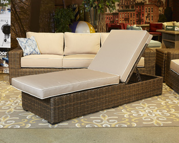 Signature Design by Ashley®Alta GrandeChaise Lounge with Cushion