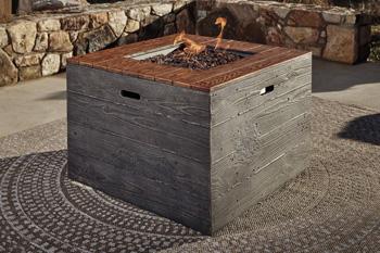 Signature Design by Ashley®HatchlandsSquare Fire Pit Table