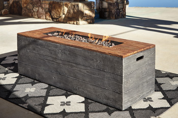 Signature Design by Ashley®HatchlandsLow RECT Fire Pit Table