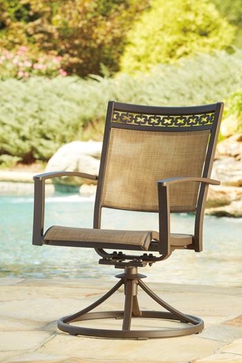 Signature Design by Ashley®CarmadeliaSling Swivel Chair (2/CN)