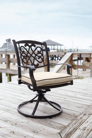 Signature Design by Ashley®BurnellaSwivel Chair with Cushion (2/CN)
