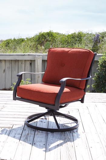 Signature Design by Ashley®BurnellaSwivel Lounge Chair (2/CN)