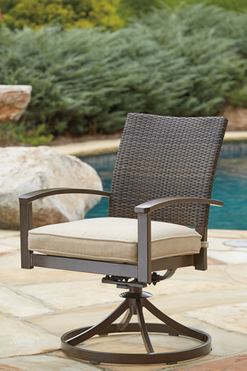 Signature Design by Ashley®MoresdaleSwivel Chair with Cushion (2/CN)