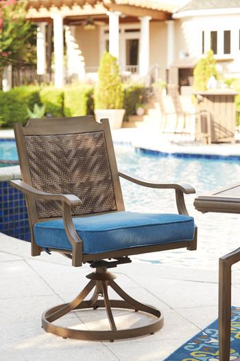 Signature Design by Ashley®PartannaSwivel Chair with Cushion (2/CN)