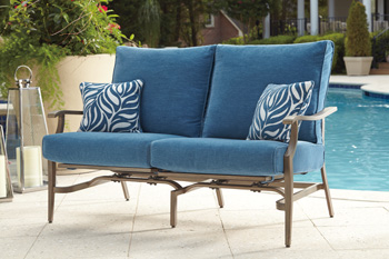 Signature Design by Ashley®PartannaMotion Loveseat (2/CN)
