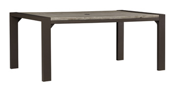 Signature Design by Ashley®PeachstoneRECT Dining Table with UMB OPT