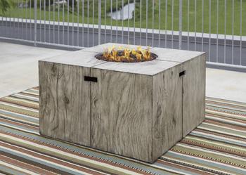 Signature Design by Ashley®PeachstoneSquare Fire Pit Table
