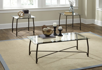 Signature Design by Ashley®BurmesqueOccasional Table Set (3/CN)