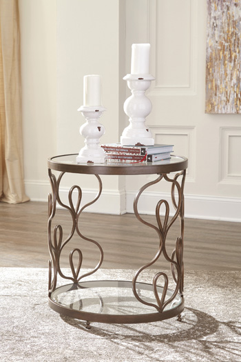 Signature by AshleyFraloniRound End Table