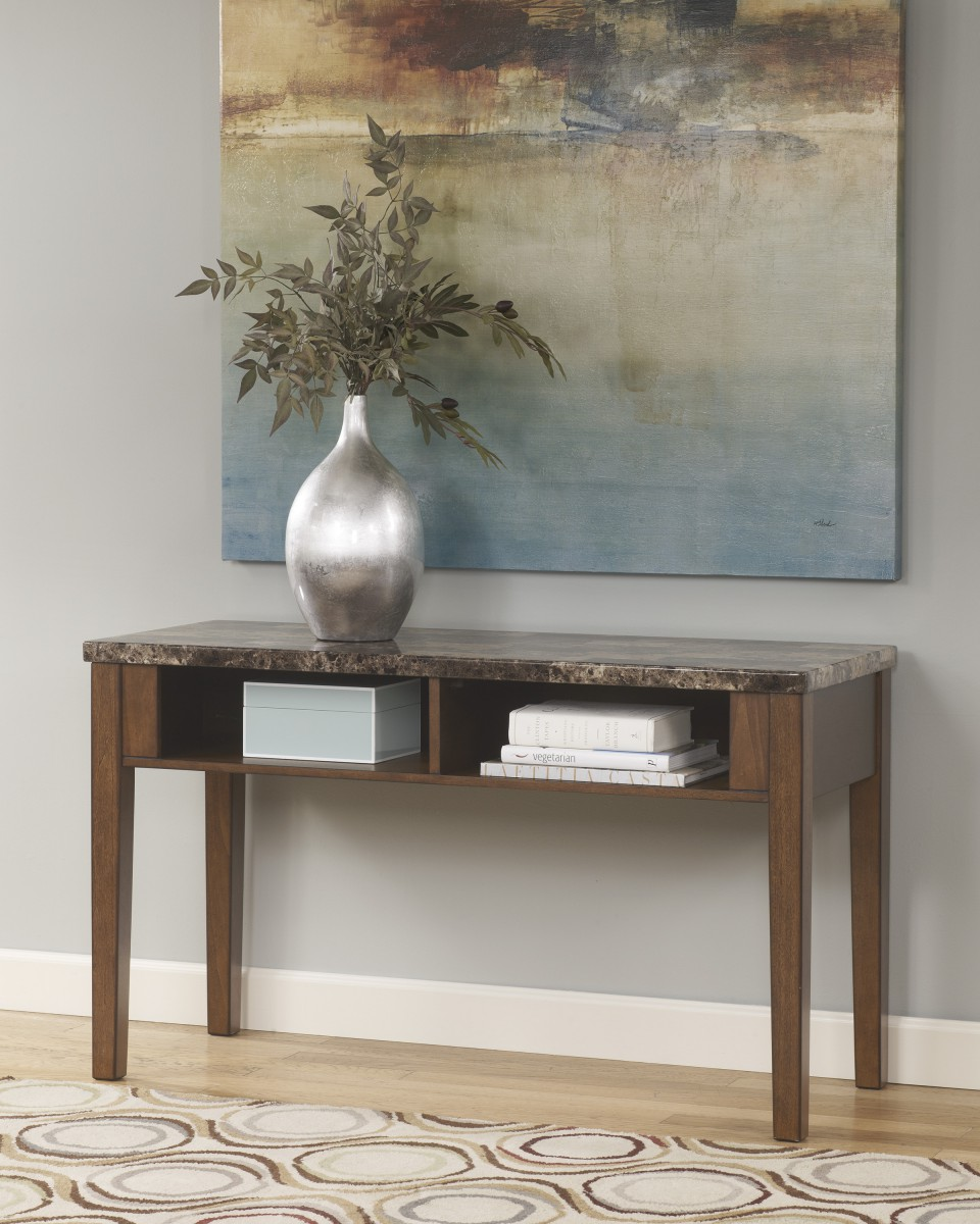T158-4 Signature Design by Ashley® Theo Console Sofa Table ...