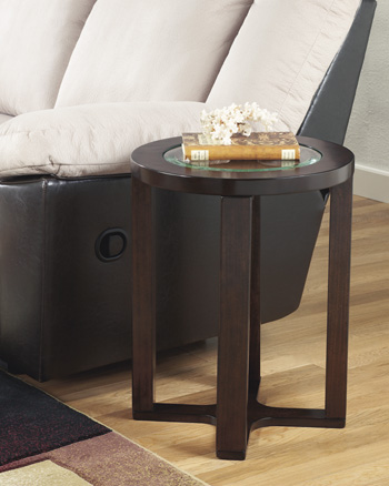 Signature by AshleyMarionRound End Table
