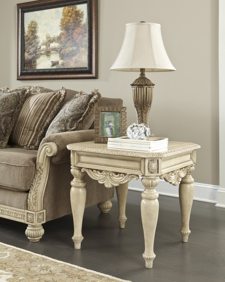 Lighted End Tables Living Room Furniture: Signature Design By Ashley Ortanique Ortanique