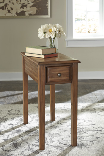 Signature Design By AshleySolid Wood Chair Side EndChair Side End Table