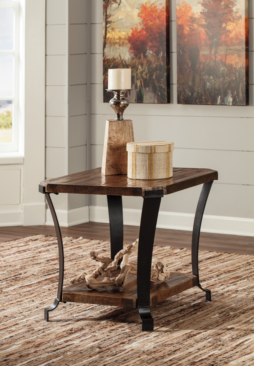 T Signature By Ashley Taddenfeld Rectangular End Table Medium - Ashley center table