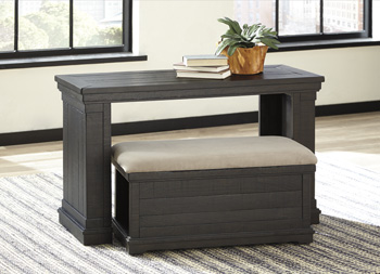 Signature by AshleySharloweSofa Table with Ottoman