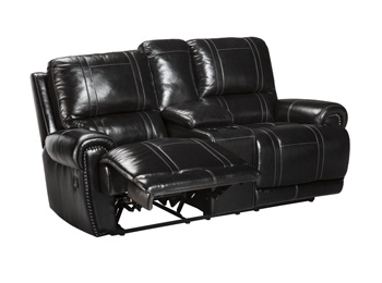 Signature by AshleyDouble Reclining Loveseat with Console