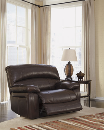Signature Design by Ashley®DamacioZero Wall Power Wide Recliner