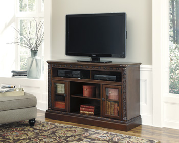Millennium®North ShoreLG TV Stand with Fireplace Option