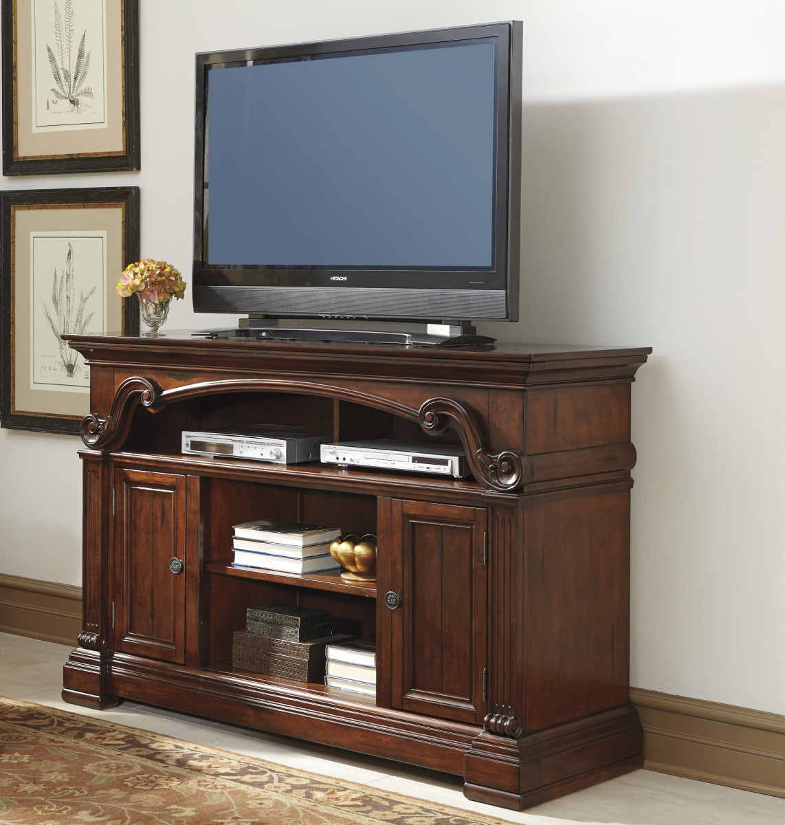 w669 68 signature design by ashley alymere lg tv stand with
