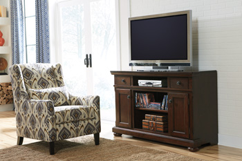 Millennium®PorterLG TV Stand with Fireplace Option