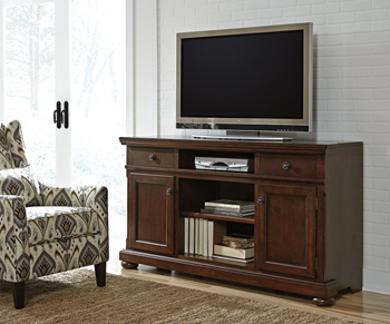 Millennium®PorterXL TV Stand with Fireplace Option