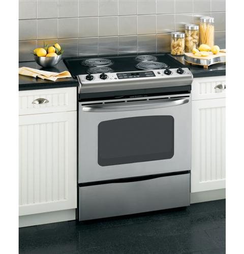 Ge 194 174 30 Quot Slide In Electric Range With Self Cleaning Oven