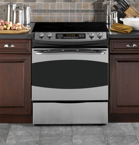 27 inch drop in electric range stainless. Black Bedroom Furniture Sets. Home Design Ideas