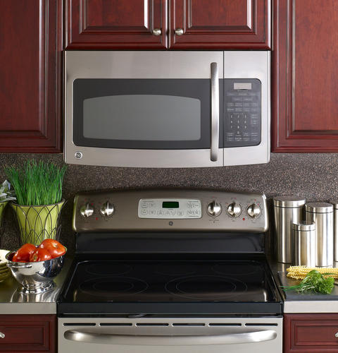 Ge Spacemaker Ge Spacemaker 1 7 Cu Ft Over The Range Microwave Oven