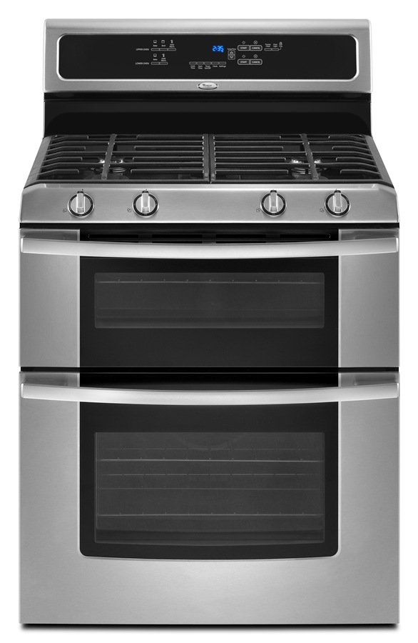 30 Inch Self Cleaning Double Oven Freestanding Gas Range