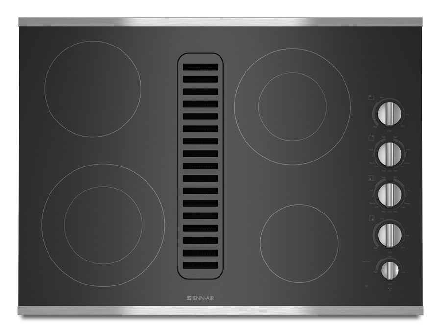 30 electric radiant downdraft cooktop. Black Bedroom Furniture Sets. Home Design Ideas