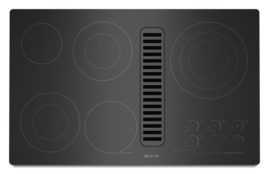 jenn air 36 downdraft radiant cooktop manuel joseph appliance center. Black Bedroom Furniture Sets. Home Design Ideas