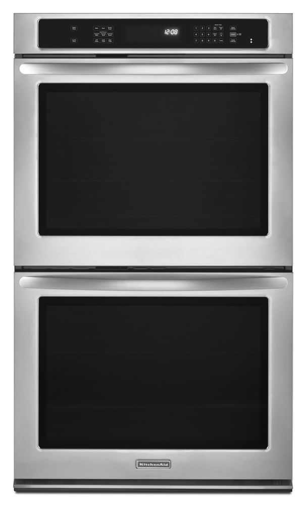 27 Inch Double Wall Oven With Even Heat 169 Technology