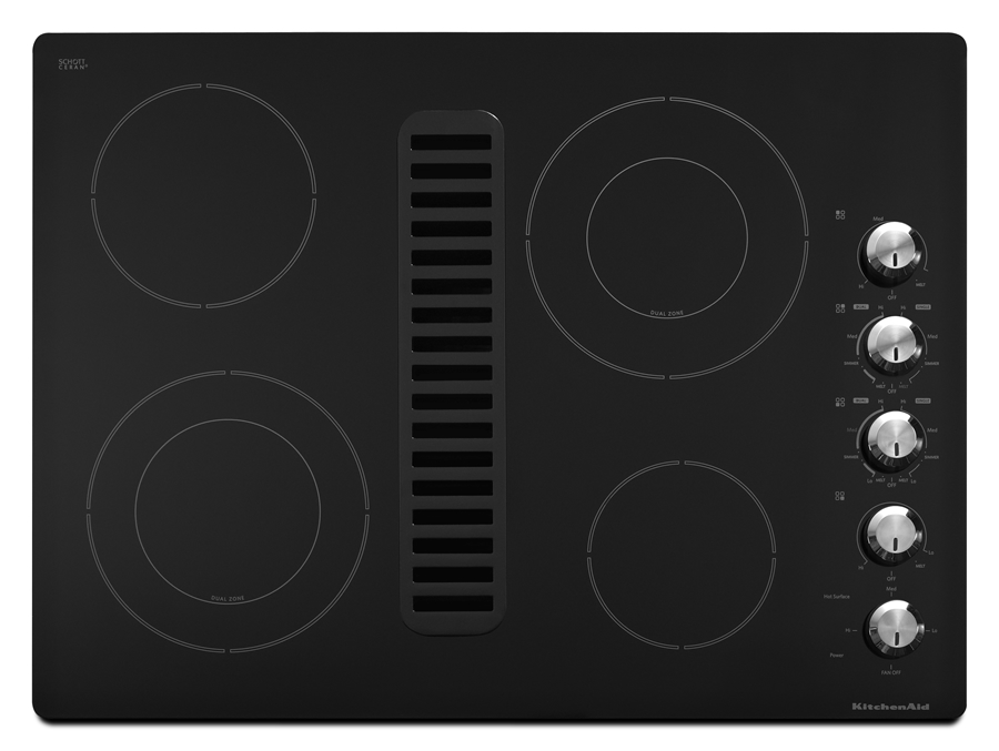 30 Inch Downdraft Electric Cooktop ~ Bray scarff appliance kitchen specialist