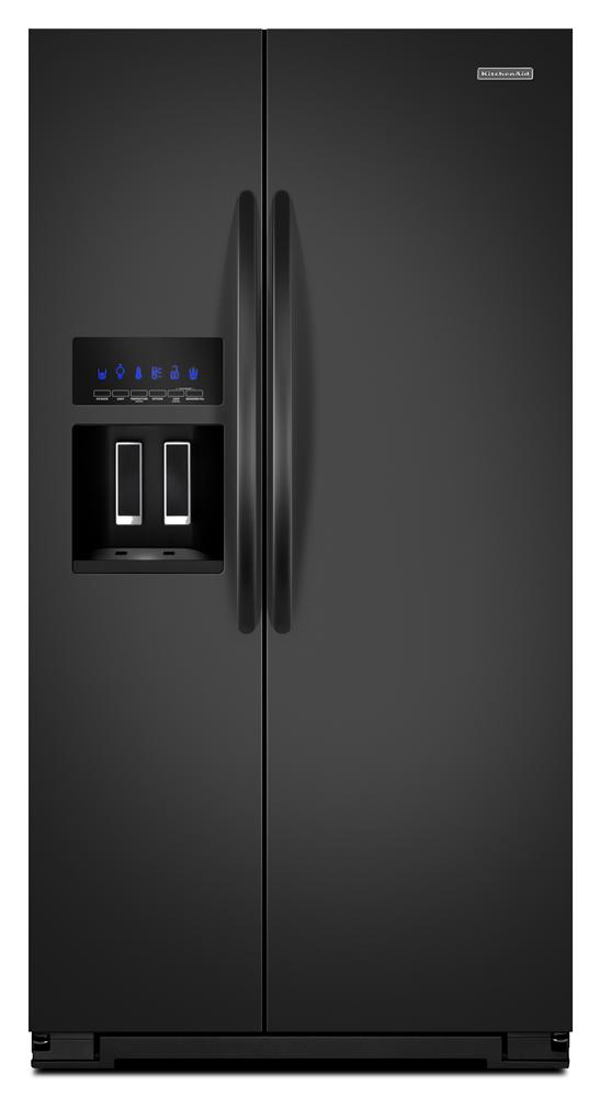 35 1 2 inch 24 cu ft counter depth side by side refrigerator. Black Bedroom Furniture Sets. Home Design Ideas