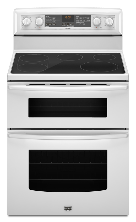 Gemini 174 electric double oven range with evenair 169 convection