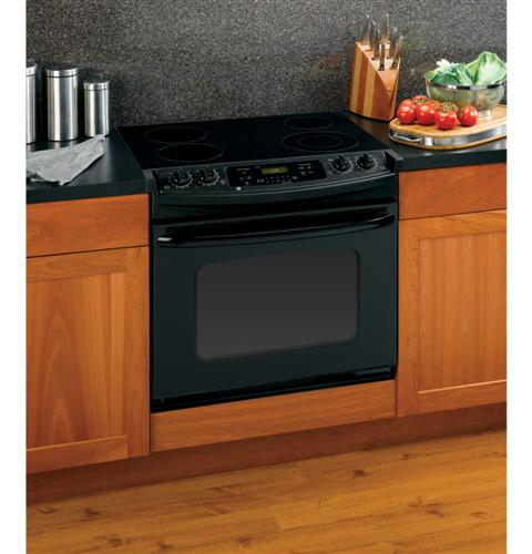 "Drop In Gas Oven GE® 30"" Drop-In Electric Range with Self-Cleaning Oven"